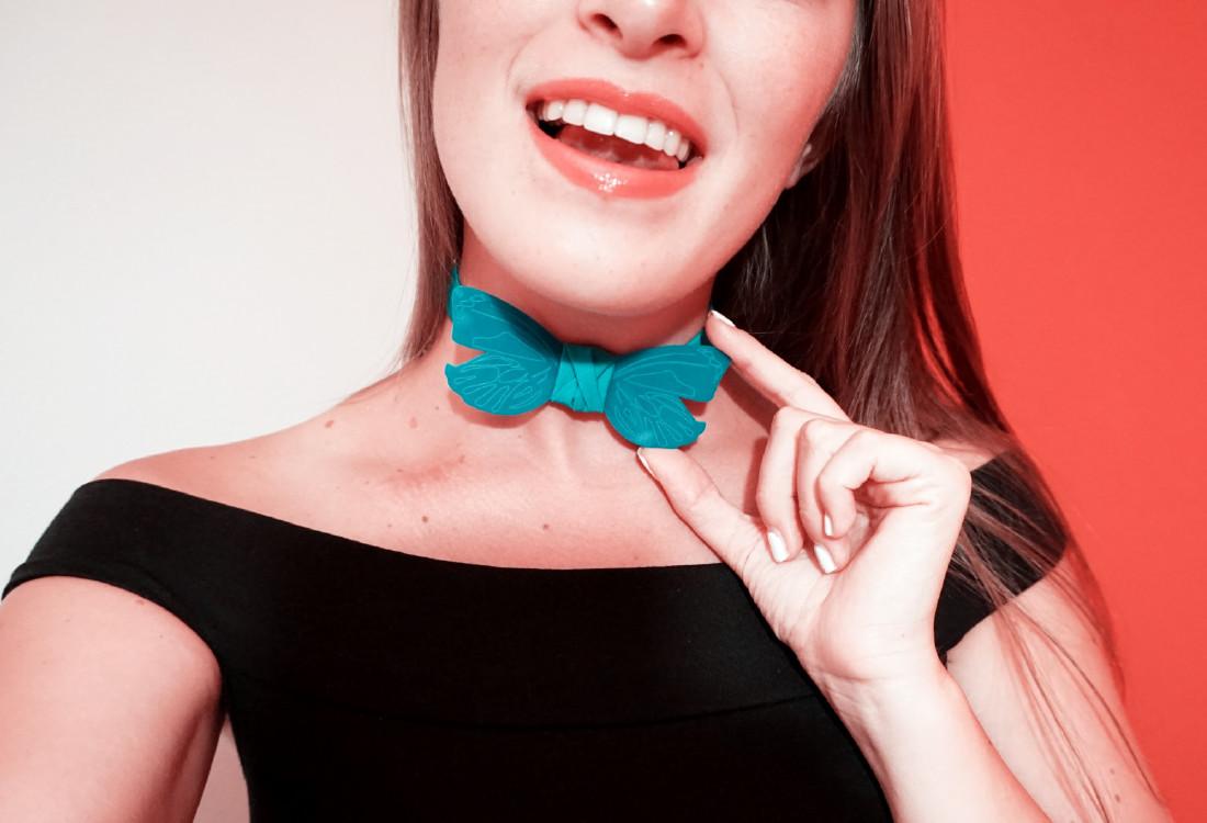 dream papillon donna plexiglass azzurro