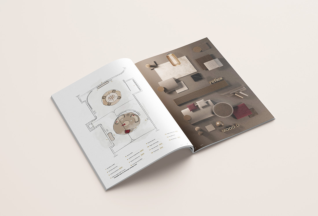 Catalogo Capsule 2020 Reflex moodboard